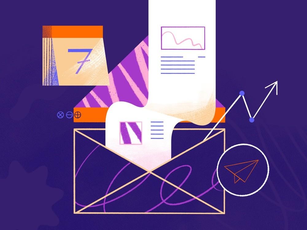 Criação e envio de Newsletter semanal