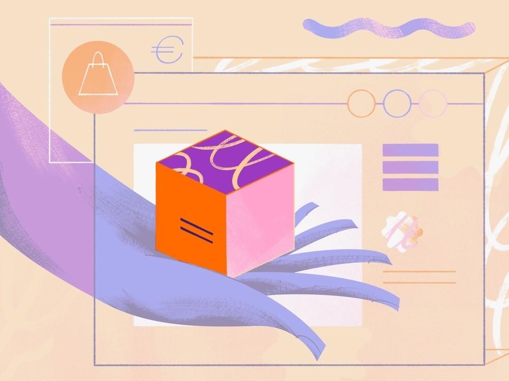 Carregamento de produtos para lojas online